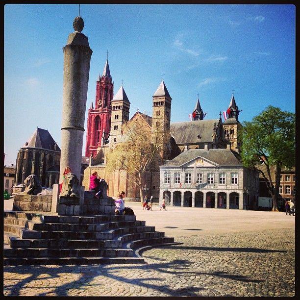 Vrijthof Maastricht Limburg Nederland