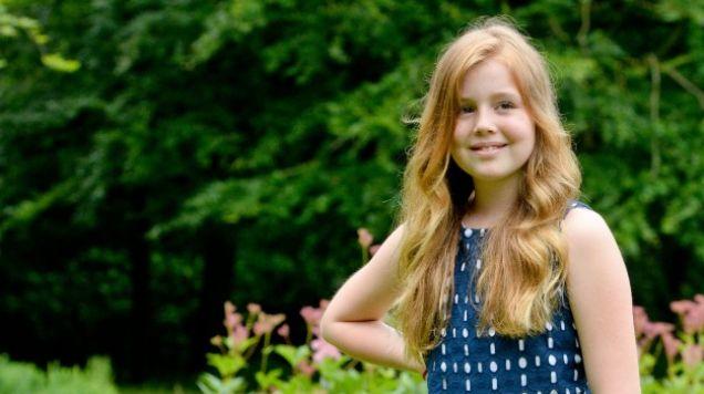 Foto's: prinses Alexia viert vandaag twaalfde verjaardag