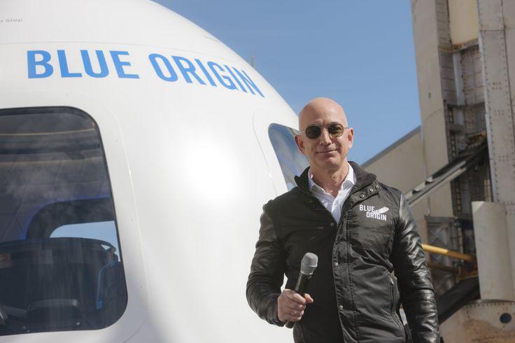 Jeff Bezos pumps his personal fortune into Blue Origin