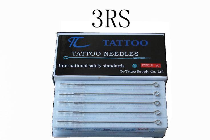 ТК Татуировки 3RS татуировки иглы 50 шт./лот бесплатная доставка stianless стали иглы медицинские татуировки иглы