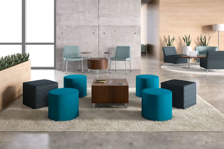 Collaborative Classroom Seating : Flock has expanded its offering to include casual seating