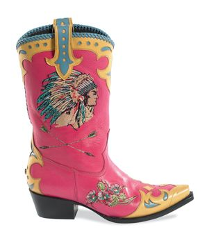 Retro Rodeo Boots by Lane for Double D Ranch