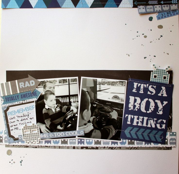 "Tomorrow's Memories: Kaisercraft ""Off the Wall"" Layout Video 