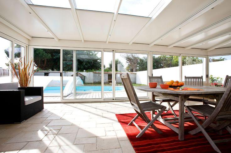 #véranda #conceptalu #armonia #salon #détente #piscine