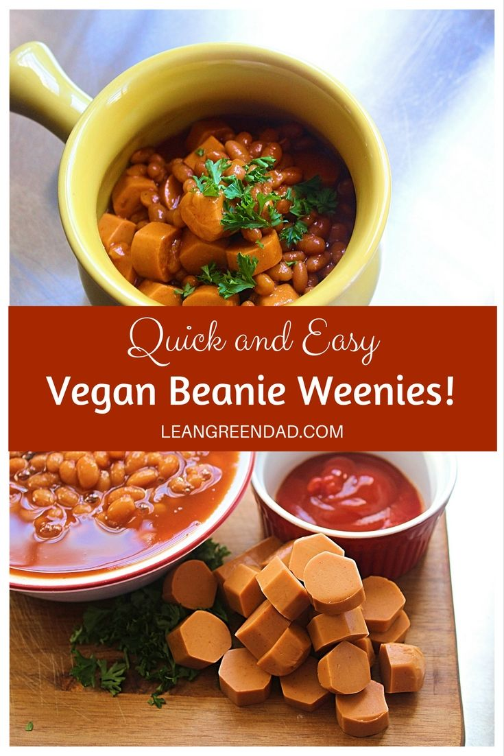 These quick and easy vegan beanie weenies will have your kids begging for more. If you love vegan hotdogs, this recipe is for you!