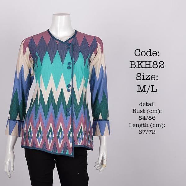 Jual beli Blus Batik BKH82 di Lapak premioguerra batik - premioguerrabatik. Menjual Fashion Wanita - bahan katun halus, batik printing