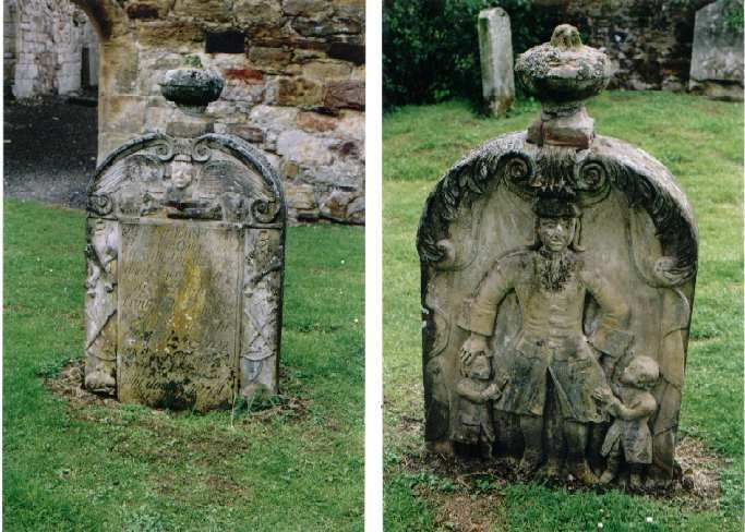 Templar Knights Graves located in Scotland