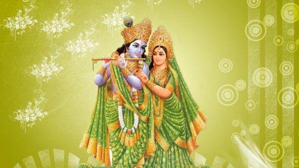 Radha and Krishna Picture for Krishna Janmastami Wallpaper Free Download