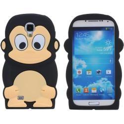 Capa Galaxy S4 - Gel Macacos Preto - 5,99 €