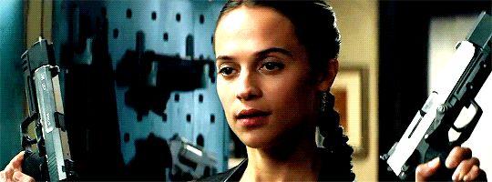 Lara Croft #film movies #cinema