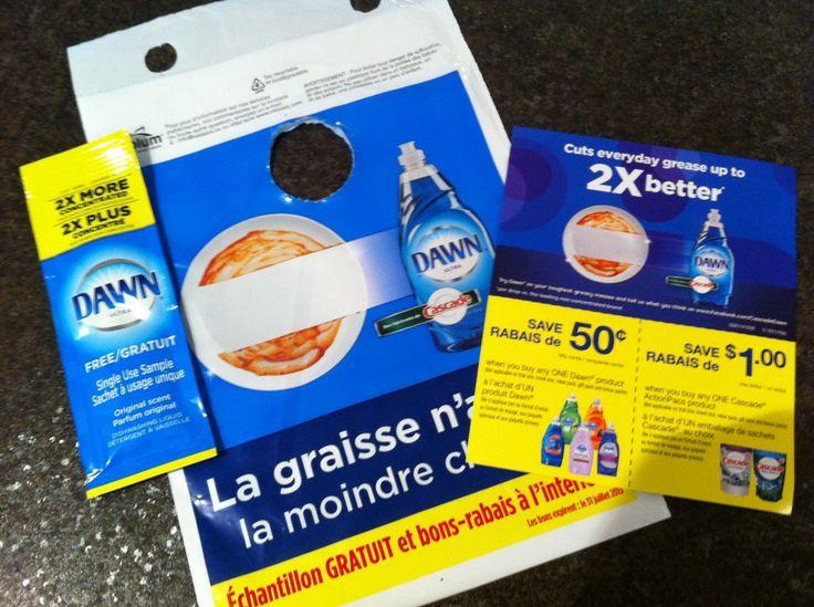 Échantillon gratuit de Dawn et coupons rabais - Échantillons gratuits Québec
