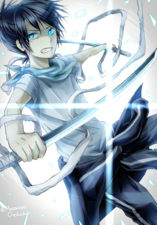 [Daily Noragami Fanart #234] I'll Decide My Own Fate! : Noragami