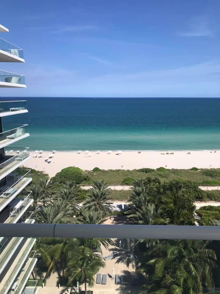 Fall Grandsurfside Is All About Palm Trees And Ocean Breeze Photo By Tennille Nicole Hamilton In 2020 Grand Beach Hotel Grand Beach Hotel Miami Beachfront Vacation