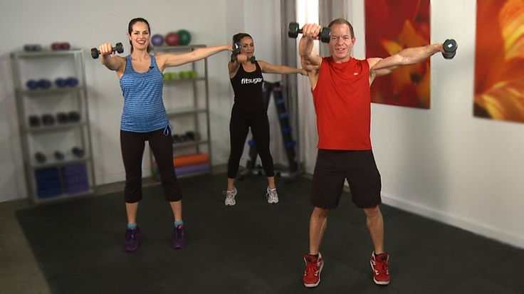 10 Minutes to Cameron's Arms and Core - Workout with Cameran Diaz's personal trainer.