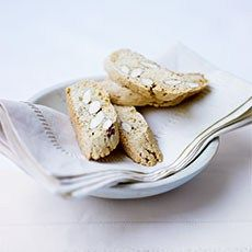 Almond Biscotti, an Italian fave. This recipe is dairy free, and for those out there who don't eat eggs, only one is required, so some xanthan gum might do the trick. Delia failed to mention welfare standards re eggs, but by now we all know it's free-range or better!