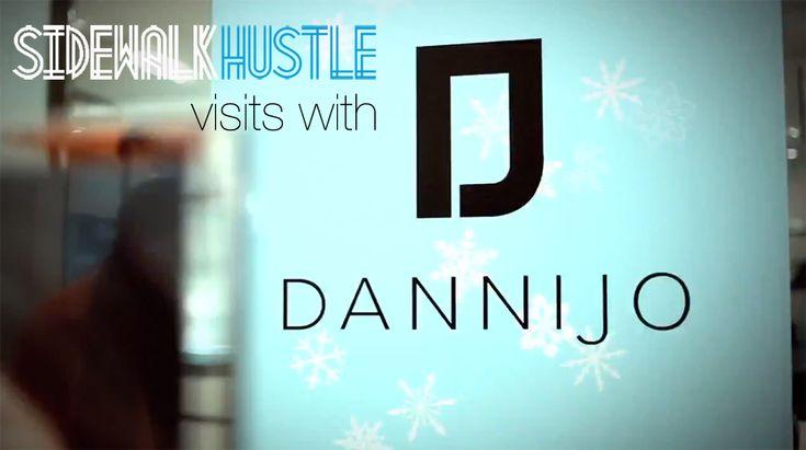 Sidewalk Hustle visits with Dannijo at Holt Renfrew