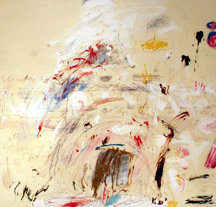 Cy Twombly, an Art Who Emphasized Mark-Making