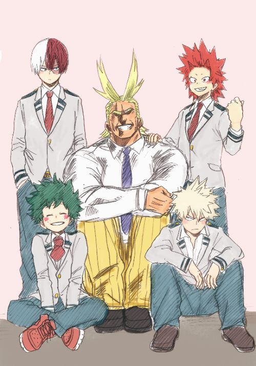 All my lovely My hero Academia boys (Need Lida and Easer he's)