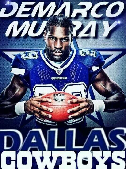 DeMarco Murray - RB - #88 - Been with the Dallas Cowboys 2011-2014, and now Philadelphia Eagles 2015 - Picked number 71, round 3 - Currently a Free Agent - College was Oklahoma.