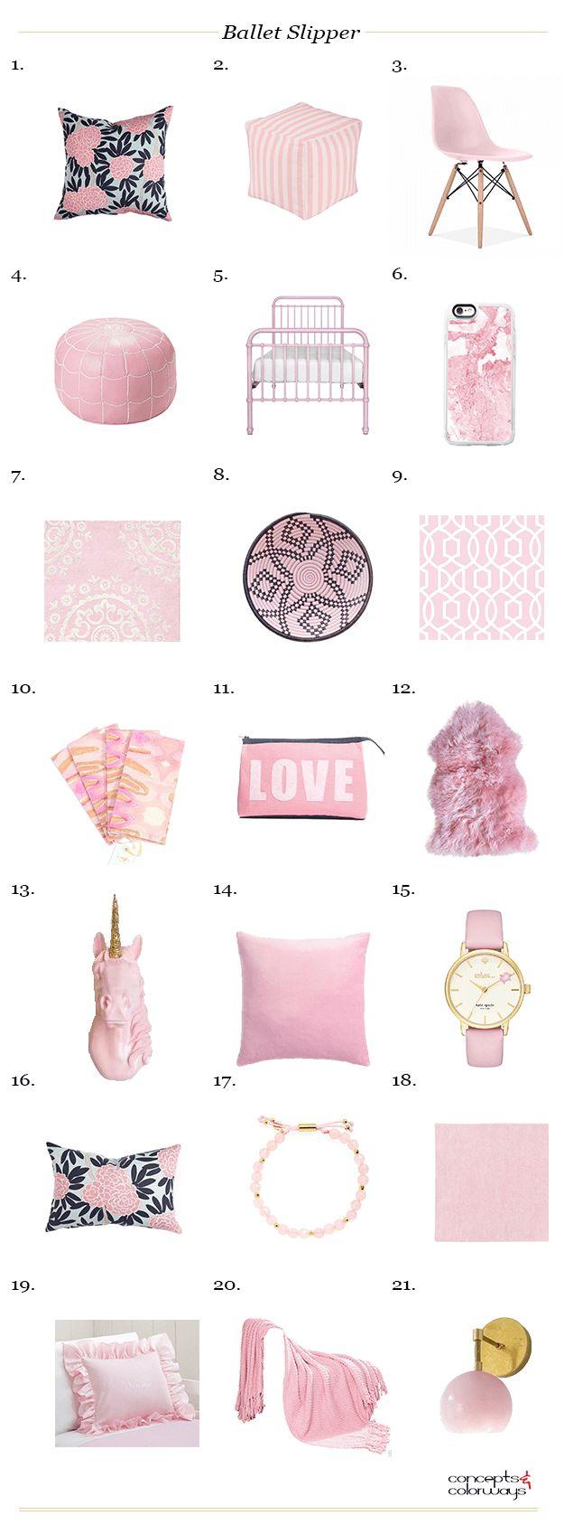 pantone ballet slipper, interior design product roundup, get the look, blush pink furniture, blush pink decor, pink interior design, color trends, 2017 color trends