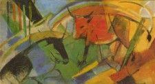Rinder - Franz Marc - Gemälde Reproduktionen in Premium Qualität auf paintify.de #paintify #Kunst #Dekoration #Franz_Mark #shopping #handgemalt  #Gemaelde #Oelgemaelde #Foto  #Reproduktionen #Alte_Meister #Geschenk #personalisierte #Geschenke #Geschenkidee #Geschenkideen #historisch #Tiere #Animals #Rind #Kuh