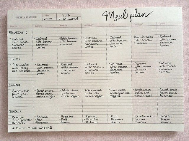 My Meal Plan