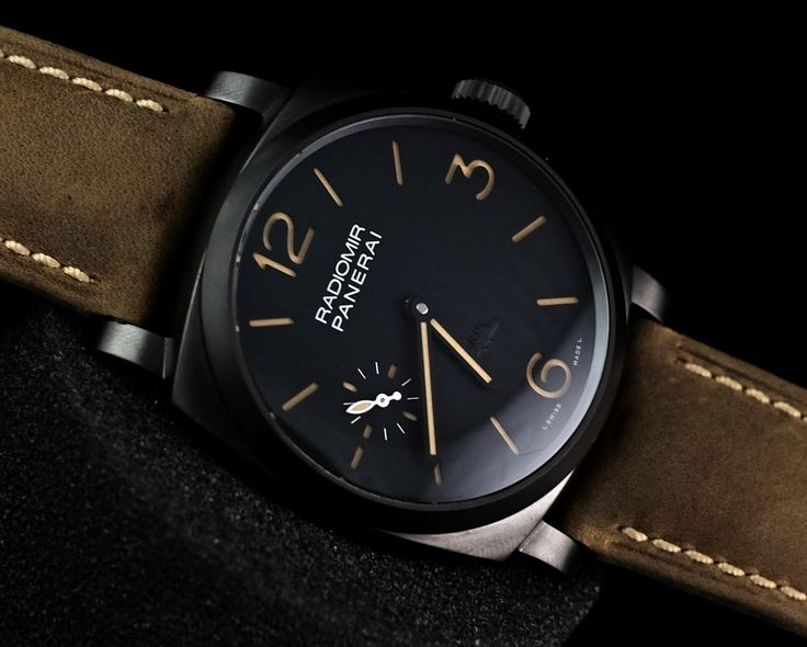 Panerai PAM 532 Radiomir 1940 Case Special Edition PaneristiForever  Ref. No. PAM 532 Movement Manual winding Case Diameter 47 mm Glass Sapphire Glass Small Seconds, Luminescent Numerals, Limited Edition, Screw-Down Crown, PVD/DLC coating Serial 'P'  Condition: 95%  (Fullset box manual paper)  WE ARE BASED AT JAKARTA - INDONESIA please contact us for any inquiry : whatsapp : +6285723925777 blackberry pin : 2bf5e6b9 #panerai #pam176 #titanium #indoristi #bruristi #officinepanerai
