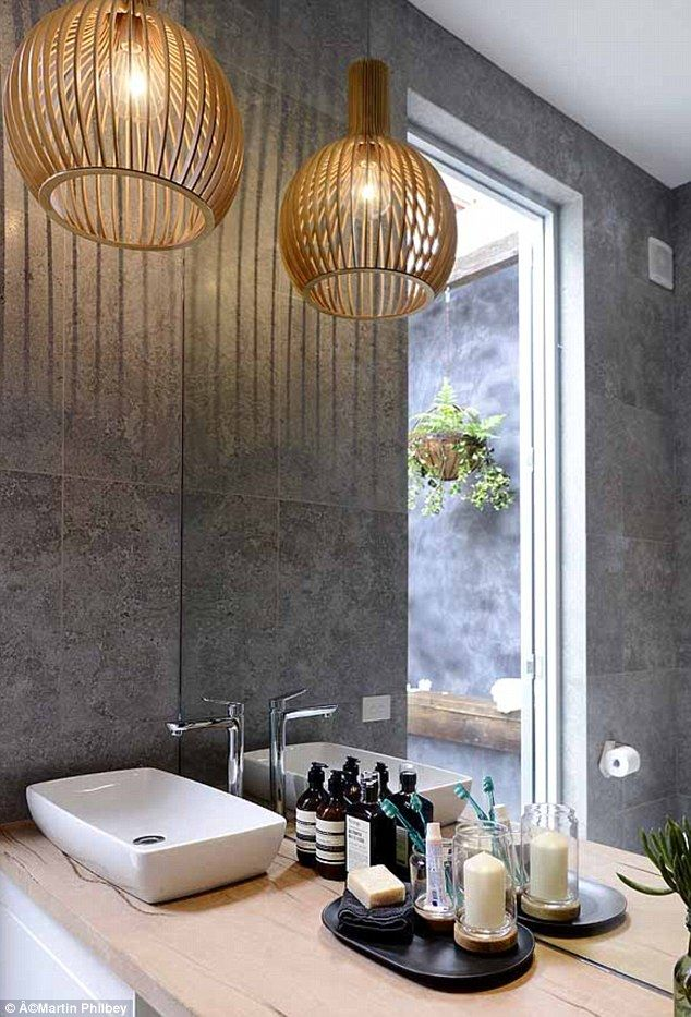 The ones to beat: Shaynna loved the light over the basin and called their design 'impeccable'
