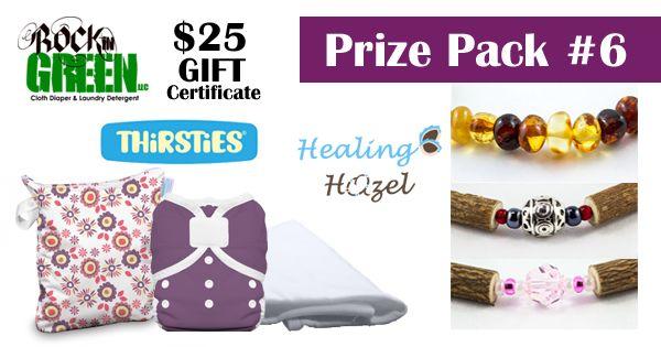Enter to win! Healing Hazel is in Pack 6.