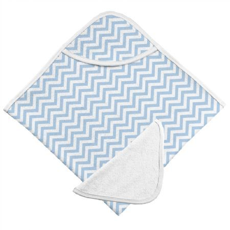 Kushies Hooded Towel and Wash Cloth - Keep your little one warm and comfy after bath time.