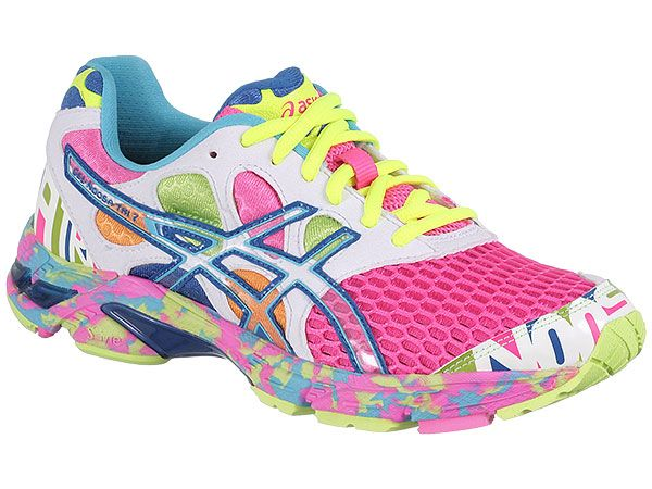 Asics Noosa Tri-7.   --I would take these running shoes over high heels ANY day :D