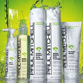 Paul Mitchell- hair products smell amazing and work even better!