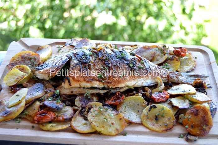 Les 579 meilleures images du tableau poisson fruits de for Poisson a la plancha