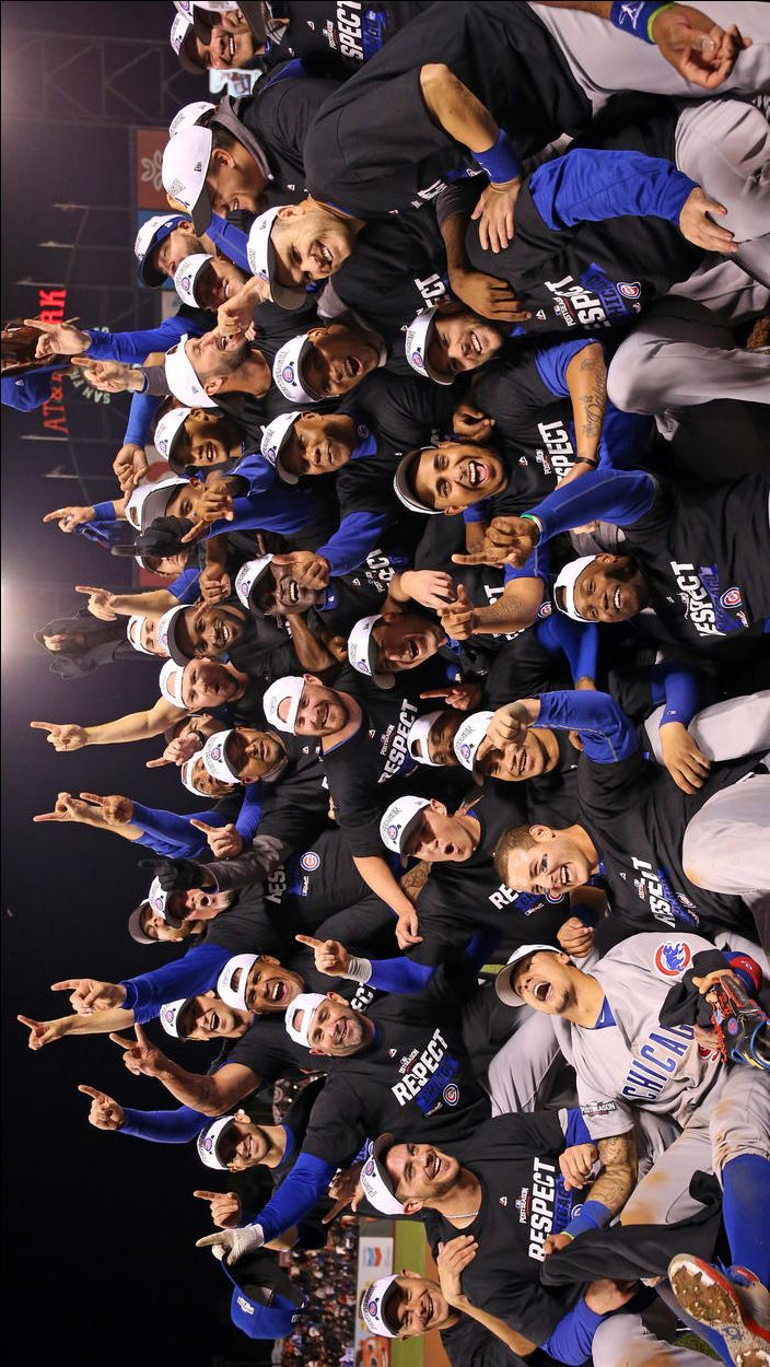 Chicago Cubs Win NLDS. October 11, 2016.