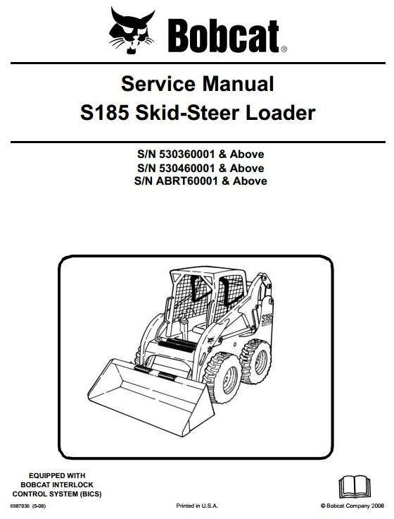 18 best bobcat service manual images on pinterest bobcat skid steer loader type s185 sn 530360001 up sn abrt60001 up workshop manual fandeluxe Gallery