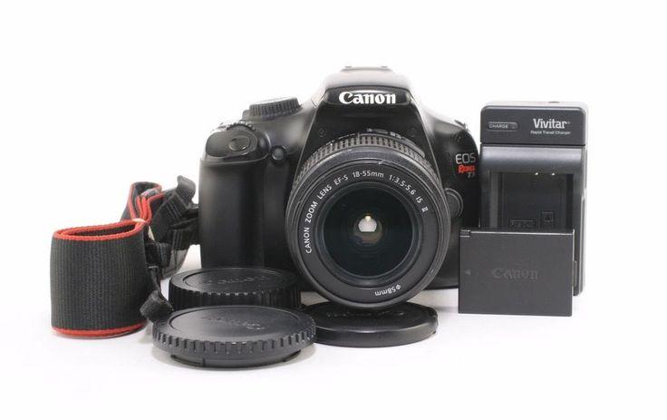 Canon Digital Rebel T3 12.2MP SLR Camera w/ 18-55mm IS II Lens; BL 412203