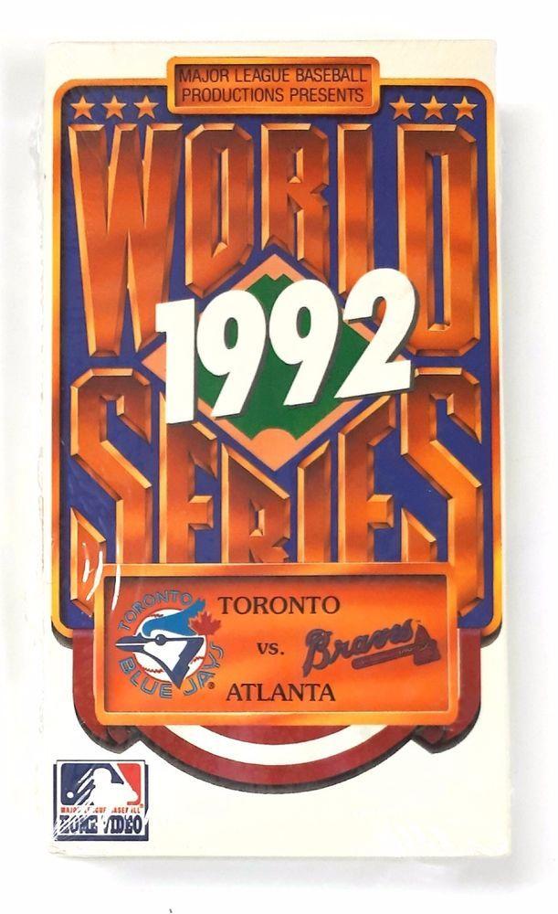 World Series - 1992 VHS Toronto Blue Jays Vs. Atlanta Braves | eBay