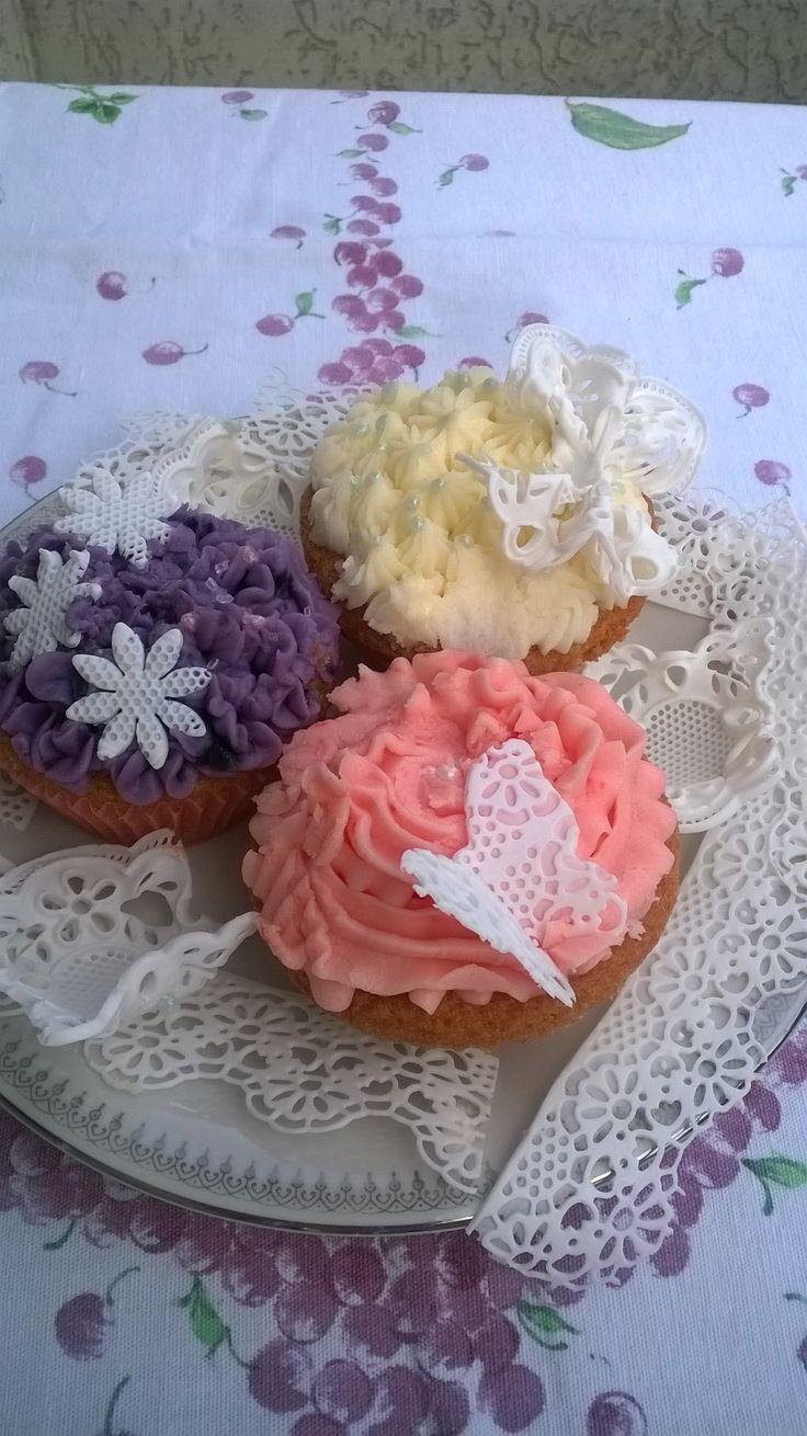 Cupcakes e merletti
