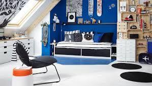 Afbeeldingsresultaat voor tienerkamer jongens blauw