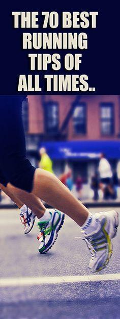 Disover the 70 Best Running Tips Of ALL Times at: http://www.runnersblueprint.com/blog/greatest_running_tips/?utm_content=buffer0a23b&utm_medium=social&utm_source=pinterest.com&utm_campaign=buffer