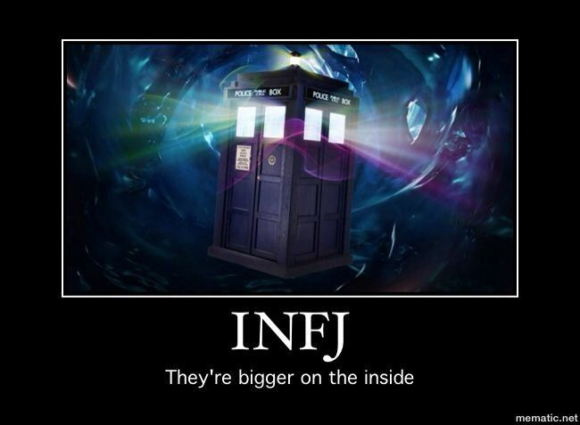 THIS IS BEAUTIFUL i wonder if lots of INFJs tend to love Doctor Who?