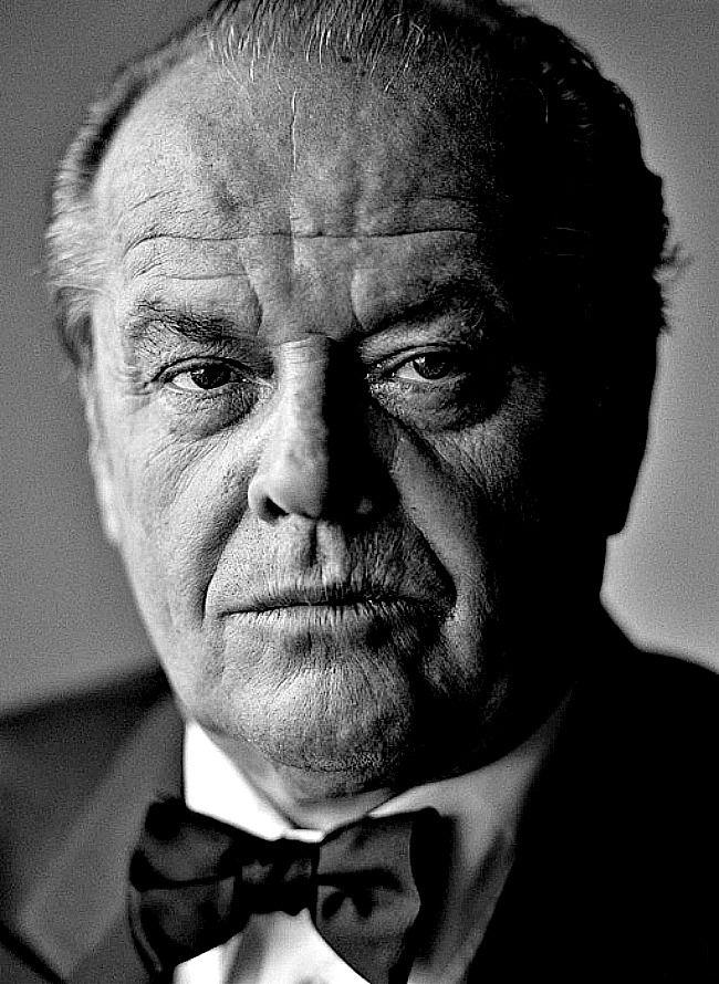 Jack Nicholson photographed by Sergey Bermenyev