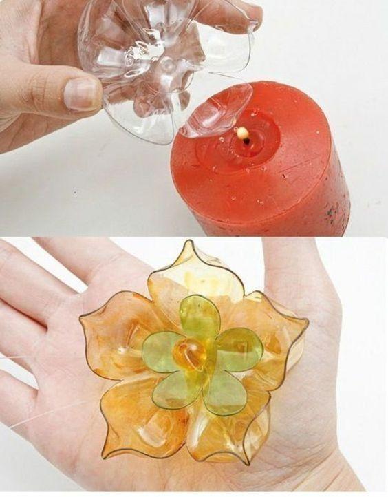 17 meilleures id es propos de recycler bouteilles en - Bricolage avec des bouteilles ...