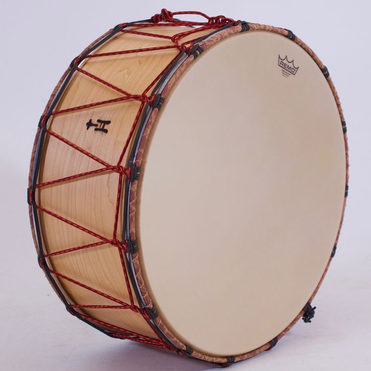"Here's your chance to get into a Tupan without loosing too much storage room in the car trunk.  At just 10"" in depth, this Natural Maple drum has plenty of low-end and punch for all your dancing/parading/teenagerwaking needs and wants, plus it features a great new Evans Calftone head on the bass side.  To see more pix, and search our entire TreeHouse archive for your favorite specs, visit our photo gallery: www.treehousedrums.com/photos"