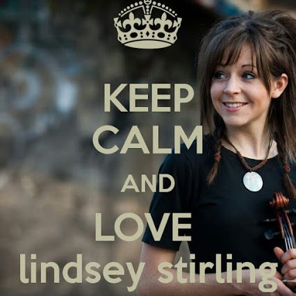 Keep Calm and watch this Lindsey Stirling video: https://www.youtube.com/watch?v=6-wEAeNcA_A (Senbonzakura - cover by Lindsey Stirling)