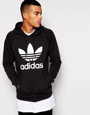 Sudadera con capucha y logo de Adidas Originals