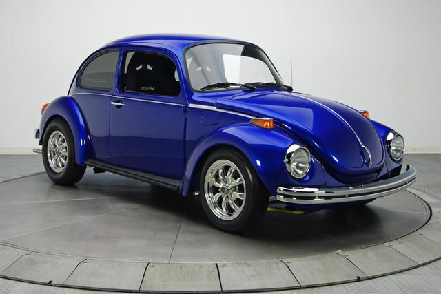 1973 Super Beetle - this is the car I learned to drive in.  Fritz, however, was light blue.