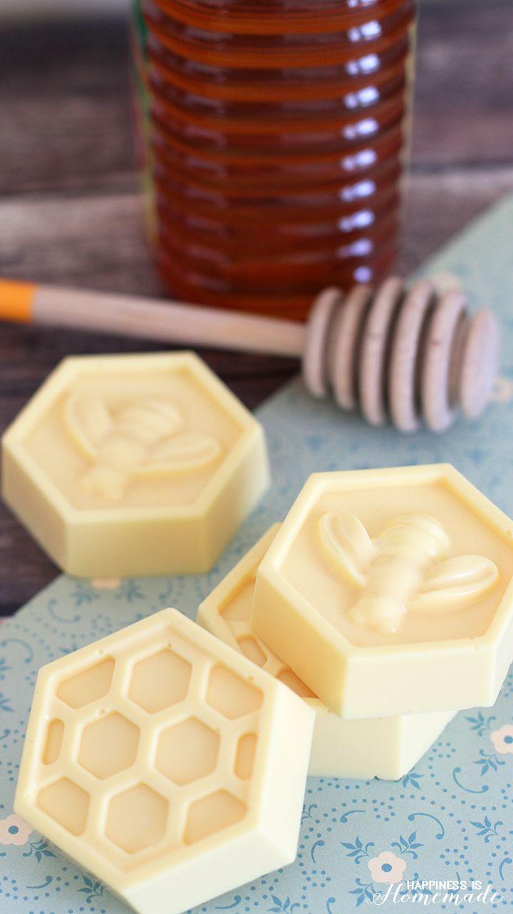 Quick and Easy Honey & Milk Soap