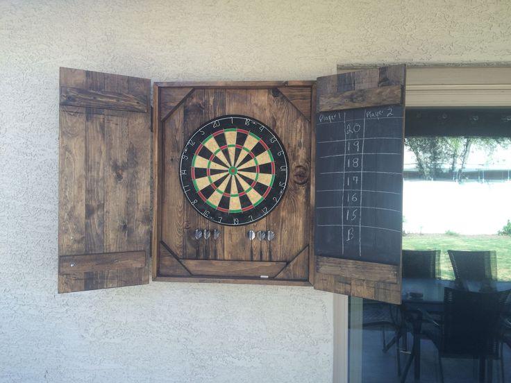 Cool DIY Dart Board Case