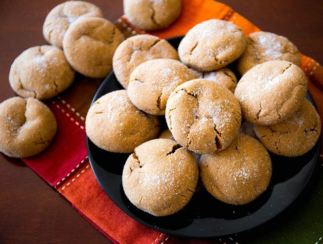 The ginger provides a hint of spice in these traditional Holiday cookies from Sally's Baking Addiction.